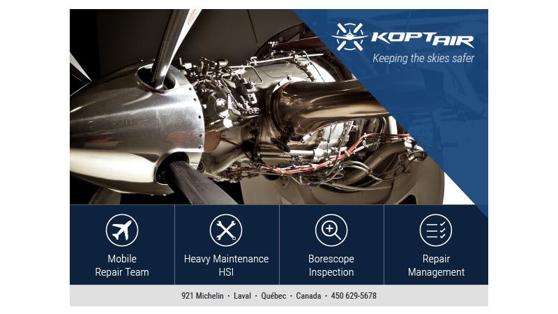 Koptair Flyer Final Zaacc Design Web Conception De Sites Web